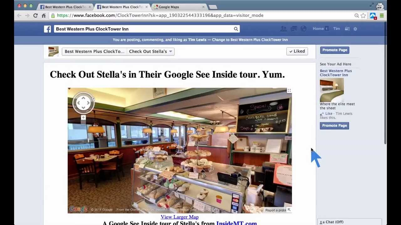 How to add a map to your Facebook page - Embed Google Map Show Direction In Google Map on google livestreet map trinidad, get directions, google latitude, google map request, google map lakeport ca, maps and directions, google mars, google search, google map from to, map with directions, google street view, google mapquest, driving directions, google calendar, google mapa, custom map directions, apple maps directions, bing directions, google earth, mapquest directions,